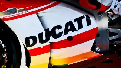 """Ducati beim Sepang 1 Test mit der """"GP14.3"""""""