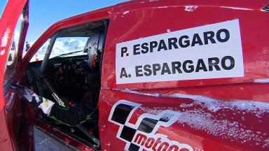 アンドラの四輪アイスレースにエスパルガロ兄弟&ラバットが参戦