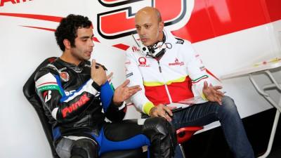 """Romagnoli: """"Petrucci ha logrado una inmediata sintonía con la Ducati"""""""
