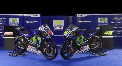 Movistar Yamaha MotoGP stellt Team 2015 in Madrid vor