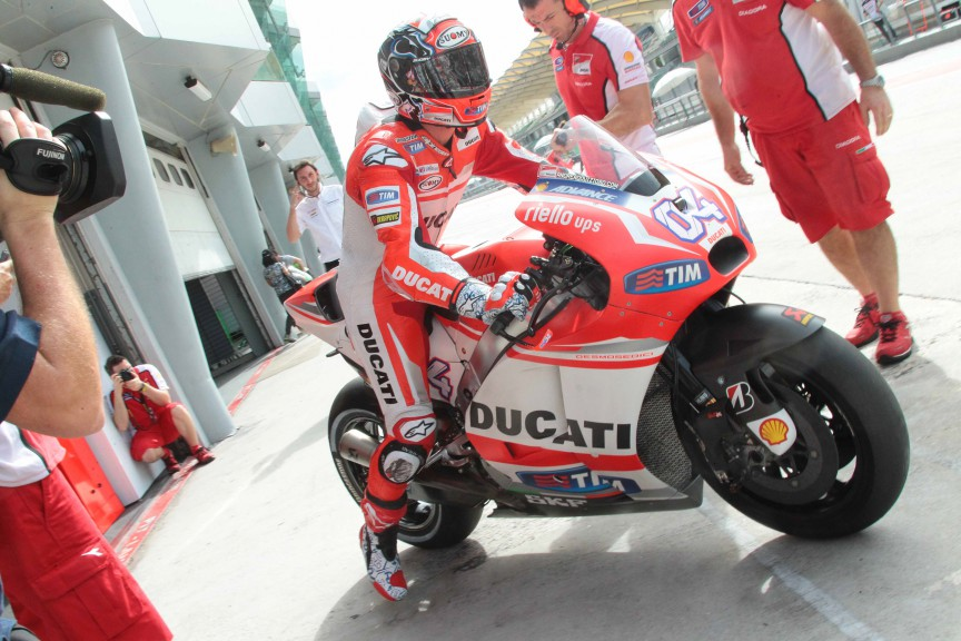 Sepang Test Action