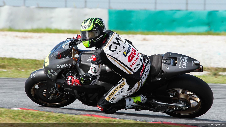 motogp.com · Cal Crutchlow, CWM LCR Honda, MotoGP Sepang Test I