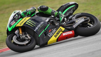 Espargaro and Smith battle through the heat on day two