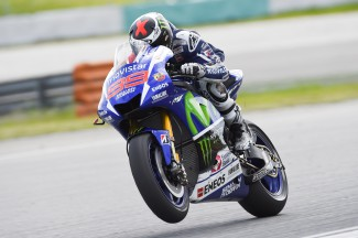 Day two at Sepang ends with Lorenzo on top