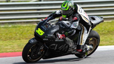 Crutchlow pleased with progress on day 2 at Sepang
