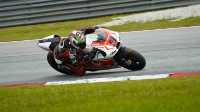 A positive test visit concludes for Pramac Racing