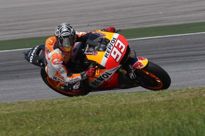 Sepang 1 Report: Marquez ahead of rivals at end of third day