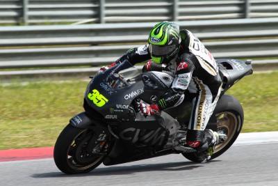 Crutchlow pleased with race pace on RC213V