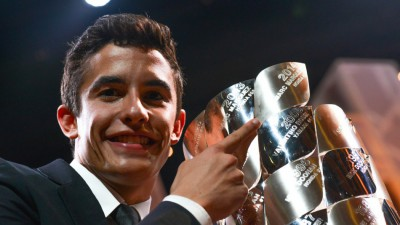 Márquez nominé aux Laureus Awards
