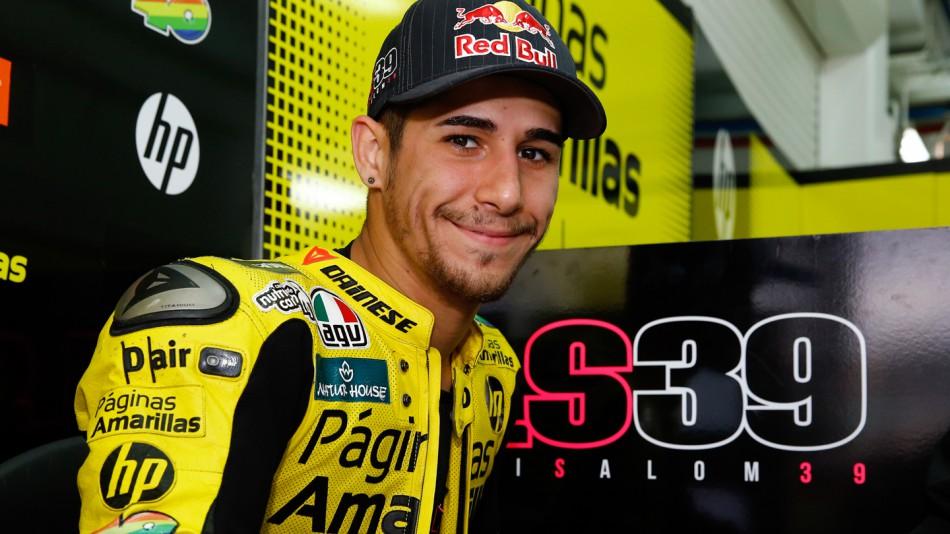 motogp.com · Luis Salom, Paginas Amarillas HP 40, Valencia Test