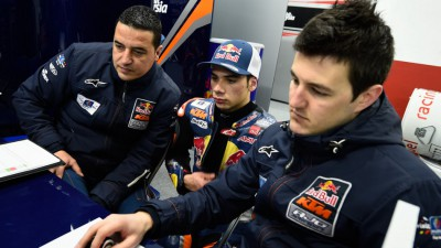 Regen bremst Red Bull KTM Ajo in Valencia ein