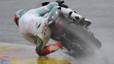 Syahrin, el más rápido en agua en el test de Valencia
