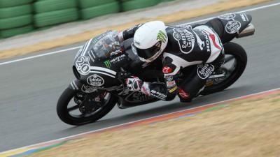 Quartararo, el más rápido del primer test oficial de Moto3