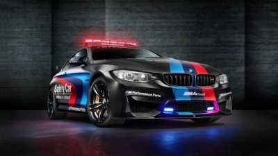 La BMW M4 Coupé in testa alla flotta MotoGP™ Safety Car