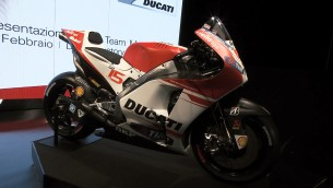 Ducati introduces Desmosedici GP15 model