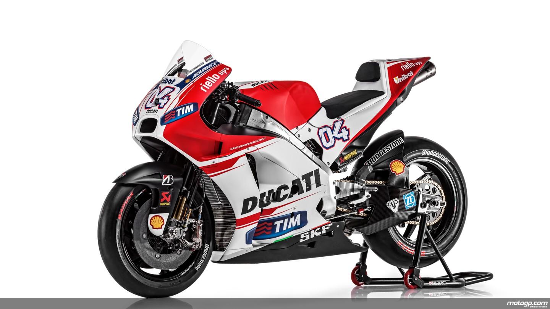 motogp.com · Ducati Desmosedici GP15 unveiled