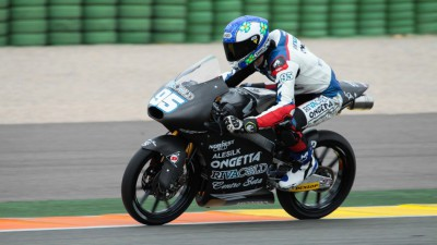 Danilo découvre la Honda 2015 à Valence
