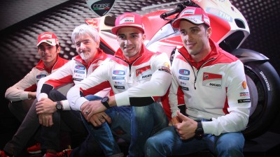 Ducati present Desmosedici GP15
