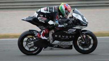 Zarco domina el primer día de test de Moto2 en Jerez