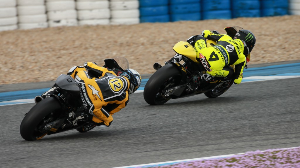 Thomas Luthi, Alex Rins, Derendinger Racing Interwetten, Páginas Amarillas Hp 40, Jerez Test