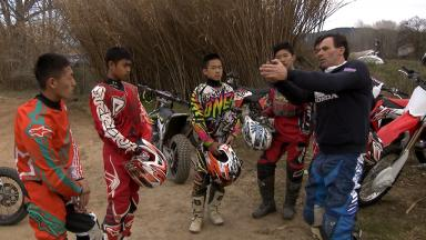 Talented Young Asian riders train in Barcelona