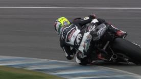 In Moto2™ testing Ajo Motorsport rider Johann Zarco proved quickest at the end of day 1, with Brit Sam Lowes following just 0.112 sec off the pace.