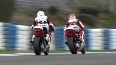 Jerez Test Day 1: Moto2 & Moto3 Action Reel