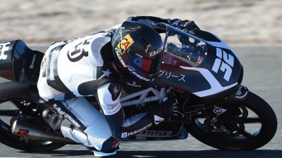 Viñales heads field on first day of Moto3™ test
