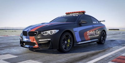 La BMW M4 Coupé è la nuova MotoGP™ Safety Car