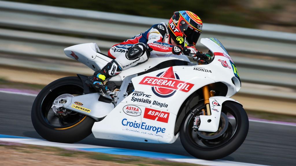 Xavier Simeon, Federal Oil Gresini Moto2, Jerez Test