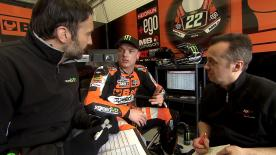 On the second day of Moto2™ testing at Jerez it was Speed Up Racing rider Sam Lowes who topped the timesheets.