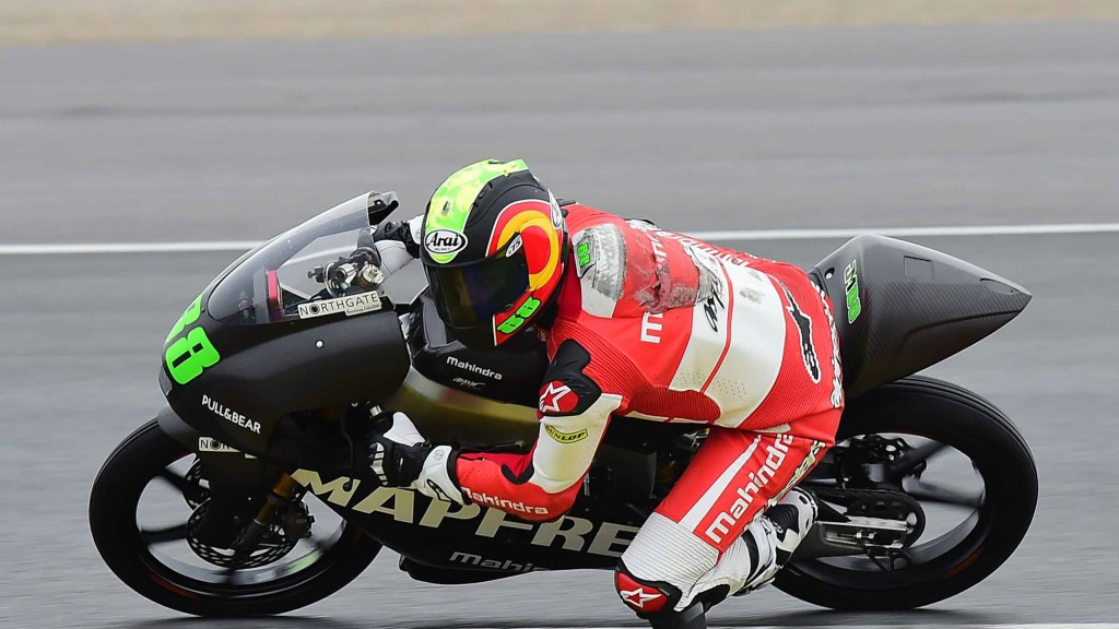 Jorge Martin, Mapfre Mahindra Aspar Team, Jerez Test