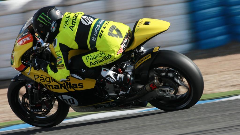 Alex Rins, Paginas Amarillas Hp 40, Jerez Test