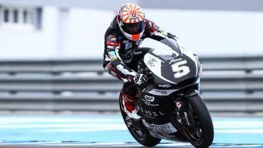 Zarco foi o mais rápido do teste de Moto2™ em Jerez