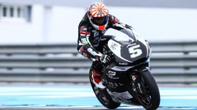Zarco, el más rápido del test de Moto2™ en Jerez