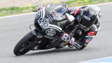 Quartararo domina nel test della Moto3™ a Jerez