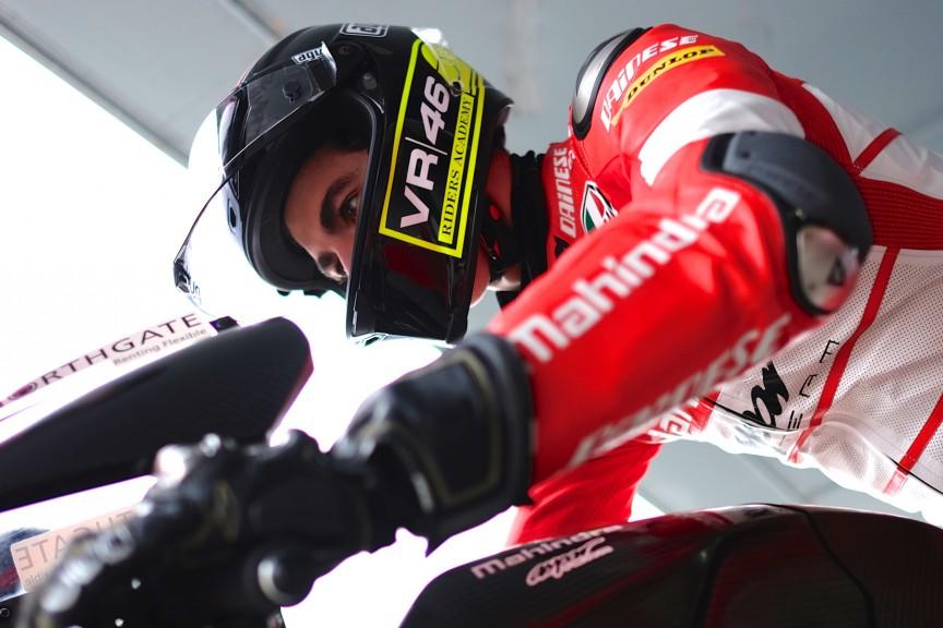 Francesco Bagnaia, MAPFRE MAHINDRA Aspar Team, Jerez Test