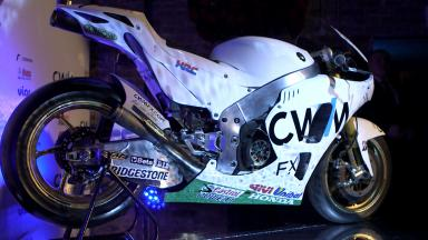 CWM LCR Honda race bikes revealed in London