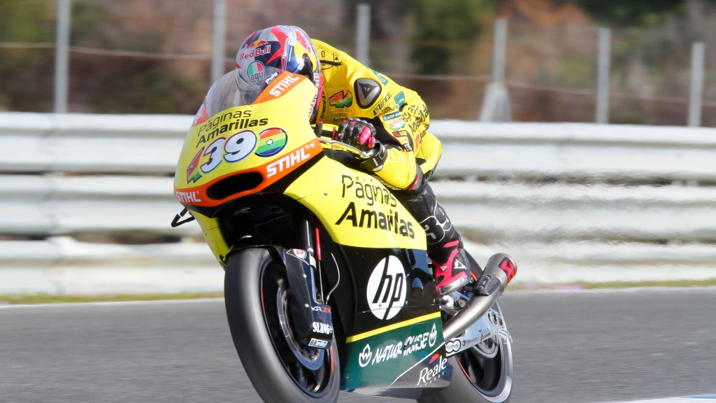 Luis Salom, Paginas Amarillas HP 40, Jerez Test