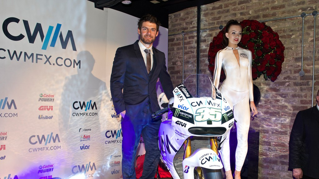 CWM LCR Honda host team launch in London