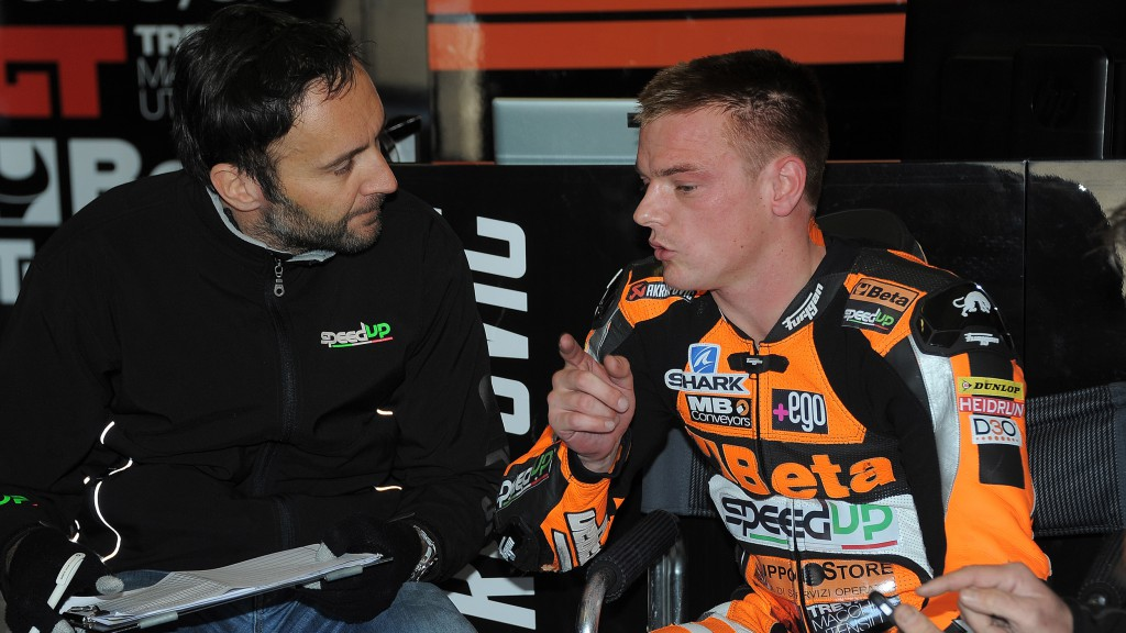 Sam Lowes, Speed Up Racing, Jerez Test © Stan Perec