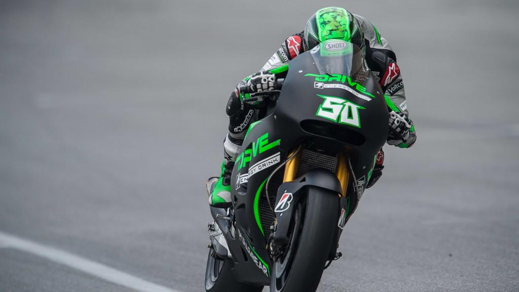 Eugene Laverty, Drive M7 Aspar, MotoGP Sepang Test II