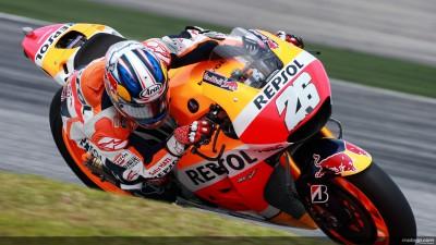 Pedrosa sucht Setup, Márquez mit Bremsproblemen
