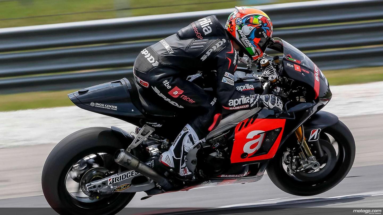 motogp.com · Marco Melandri, Aprilia Racing Team Gresini, MotoGP Sepang Test II