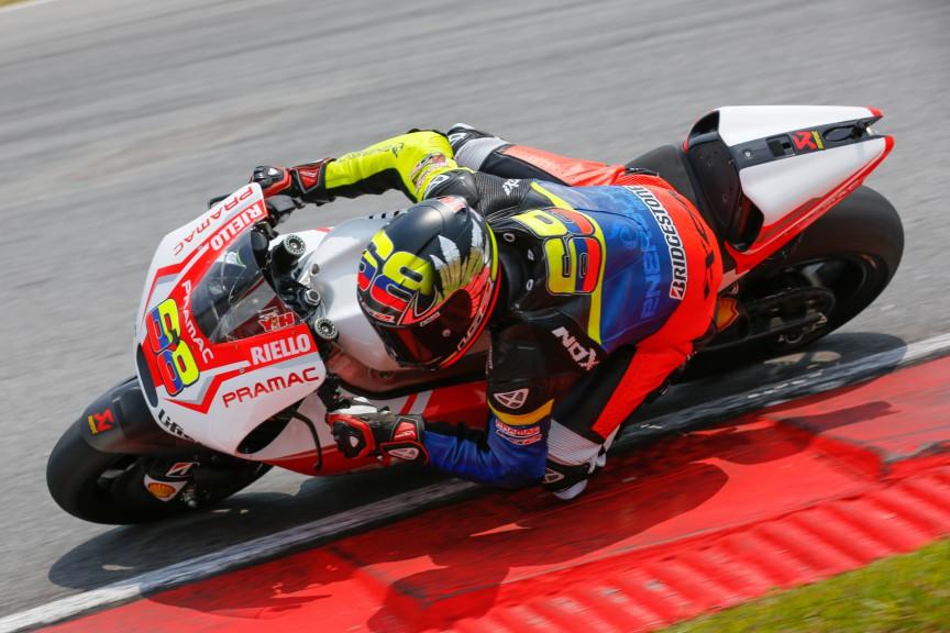 Yonny Hernandez, Pramac Racing, MotoGP Sepang Test II