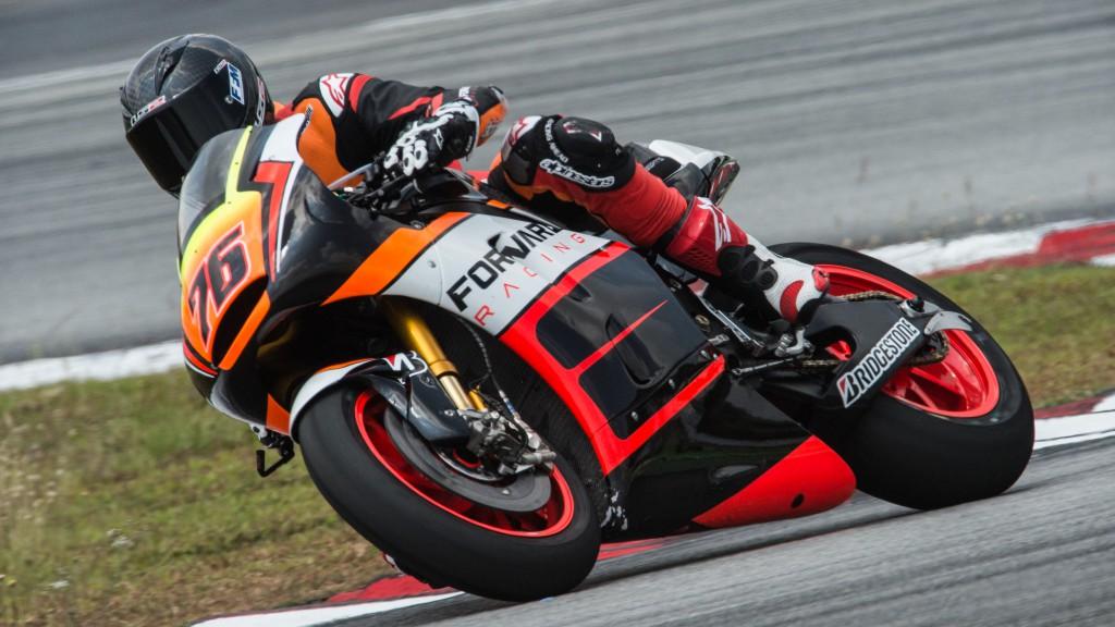 Loris Baz, Forward Racing, MotoGP Sepang Test II