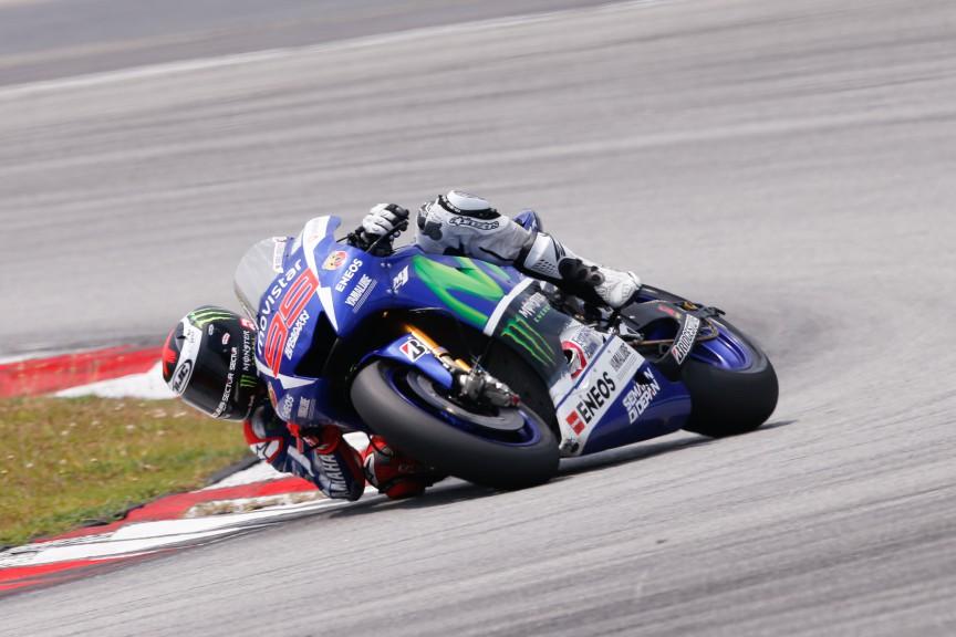 Jorge Lorenzo, Movistar Yamaha MotoGP, MotoGP Sepang Test II