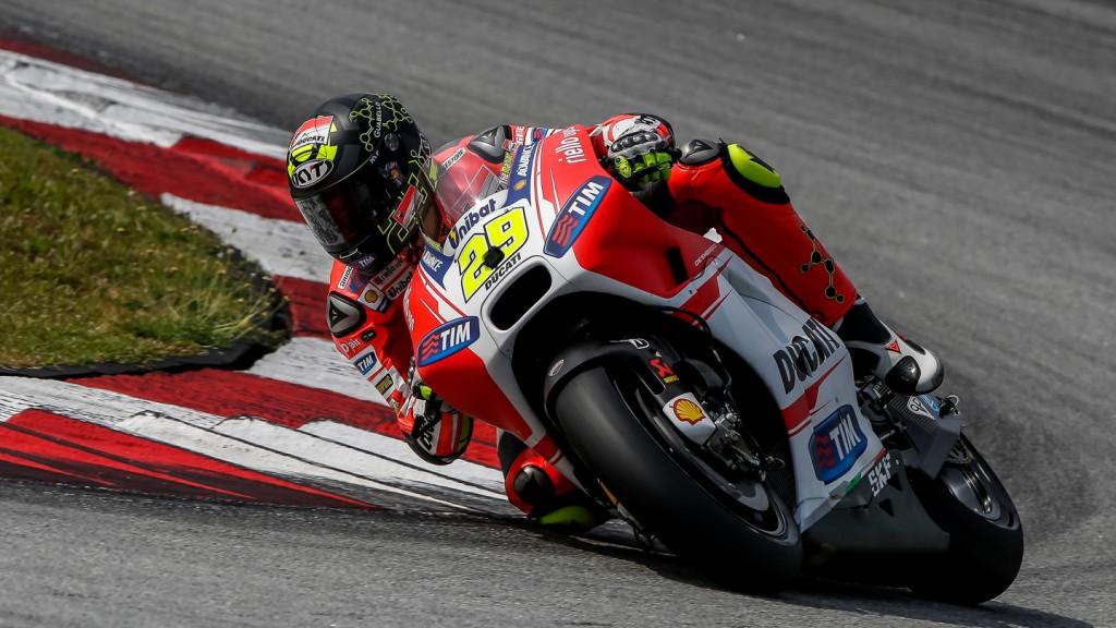 Andrea Iannone, Ducati Team, MotoGP Sepang Test II