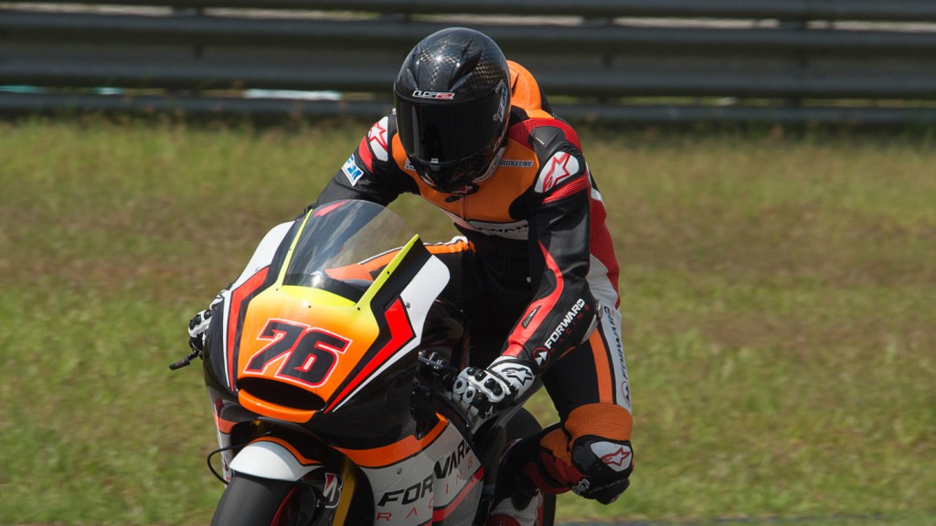 Forward Racing, MotoGP Sepang Test II
