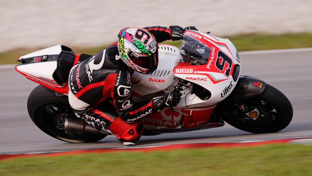Danilo Petrucci, Pramac Racing, MotoGP Sepang Test II
